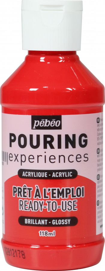 POURING EXPERIENCES FLACON 118 ML ROUGE MAGENTA