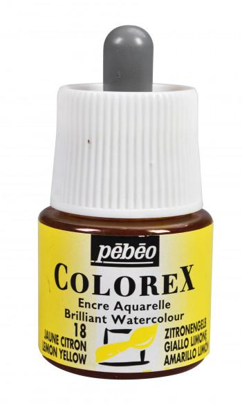 ENCRE COLOREX 45 ML JAUNE CITRON