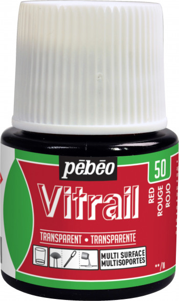 VITRAIL 45 ML ROJO